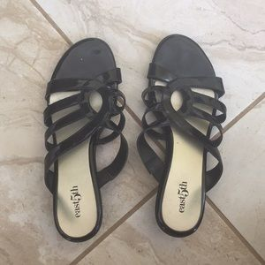 black womens very short heels